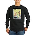 Health Nut Long Sleeve Dark T-Shirt