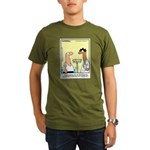 Health Nut Organic Men's T-Shirt (dark)