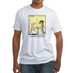 Health Nut Fitted T-Shirt