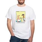 Health Nut White T-Shirt