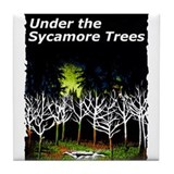 Under the Sycamore Trees Tile Coaster