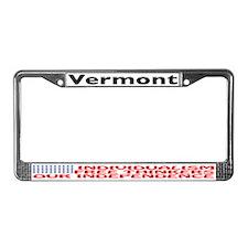 VT License Plate Frame