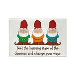 Burning Stare of The Gnomes Rectangle Magnet (100