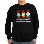 Burning Stare of The Gnomes Sweatshirt (dark)