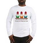 Burning Stare of The Gnomes Long Sleeve T-Shirt