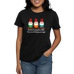Burning Stare of The Gnomes Women's Dark T-Shirt