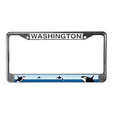 WA License Plate Frame
