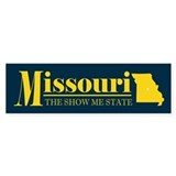 Missouri Gold Car Sticker