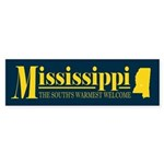 Mississippi Gold Sticker (Bumper)