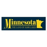 Minnesota Gold Bumper Sticker