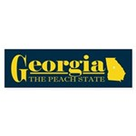 Georgia Gold Sticker (Bumper)