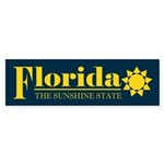 Florida Gold Sticker (Bumper)