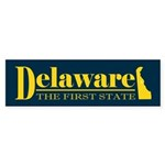 Delaware Gold Sticker (Bumper)