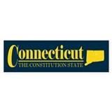 Connecticut Gold Bumper Sticker