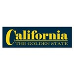 California Gold Sticker (Bumper)