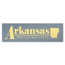 Arkansas Gold Bumper Sticker