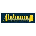Alabama Gold Sticker (Bumper)