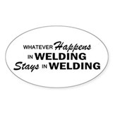 Whatever Happens - Welding Decal