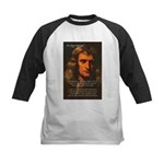 Sir Isaac Newton Space Kids Baseball Jersey