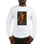 Sir Isaac Newton Space Long Sleeve T-Shirt