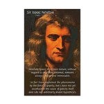 Sir Isaac Newton Space Mini Poster Print