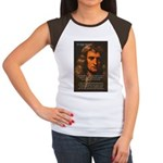 Sir Isaac Newton Space Women's Cap Sleeve T-Shirt