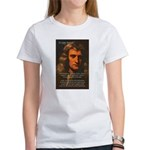 Sir Isaac Newton Space Women's T-Shirt