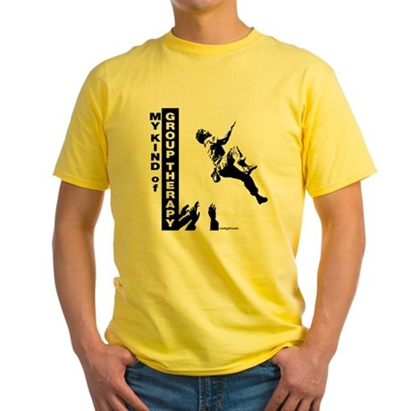 Group Therapy Yellow T-Shirt