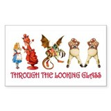 THROUGH THE LOOKING GLASS Decal