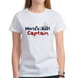 World's Best Captain Tee