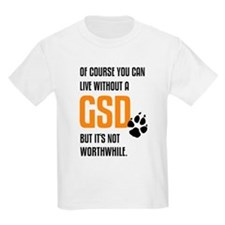 without GSD black orange T-Shirt