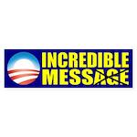Incredible Mess Sticker (Bumper)