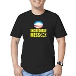 Incredible Mess Men's Fitted T-Shirt (dark)