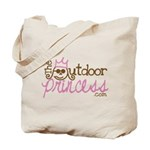 The Outdoor Princess Tote Bag