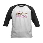 The Outdoor Princess Kids Baseball Jersey