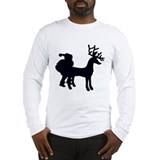 Santa has Been A Bad Boy Long Sleeve T-Shirt