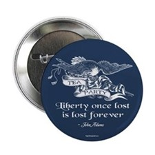 "Adams Quote - Liberty 2.25"" Button (10 pack)"