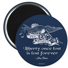 "Adams Quote - Liberty 2.25"" Magnet (10 pack)"