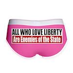 All Who Love Liberty Women's Boy Brief