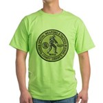 Butts County SWAT Green T-Shirt