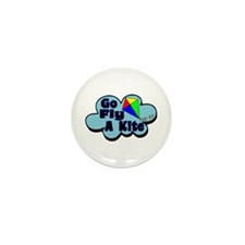 Go Fly A Kite Mini Button (100 pack)