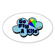 Go Fly A Kite Decal