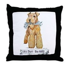 Lakeland Terrier Throw Pillow