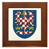 Moravia Coat of Arms Framed Tile