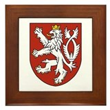 Bohemia Coat of Arms Framed Tile