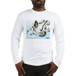 Flying Homer Pigeons Long Sleeve T-Shirt