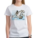 Flying Homer Pigeons Women's T-Shirt