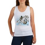 Flying Homer Pigeons Women's Tank Top