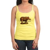 Sumatran Rhinoceros Ladies Top