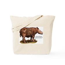 Sumatran Rhinoceros Tote Bag